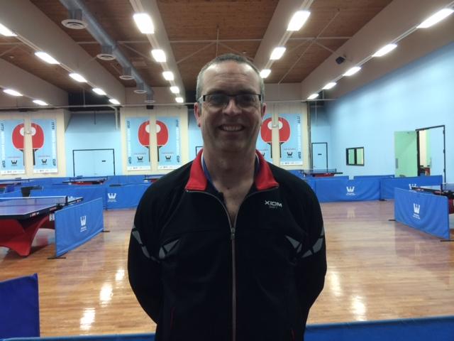 Ben Nisbet @ Westchester Table Tennis Center